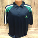 mens jd black polo